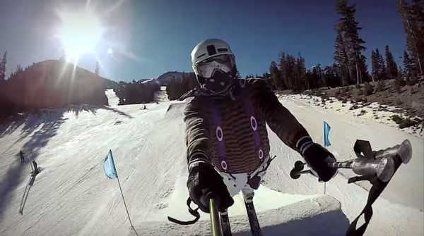 Skiing with a GoPro Camera