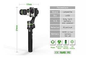 Lanparte handheld GoPro Gimbal