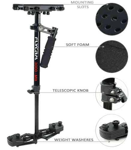 Flycam HD 3000 stabilizer for dslr camera