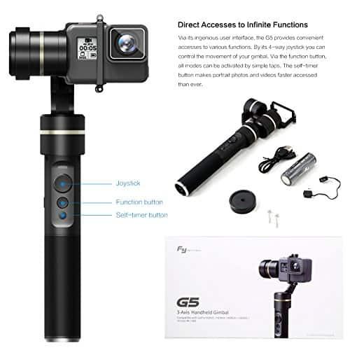 Feiyu Tech G5 3-Axis Handheld GoPro Gimbal