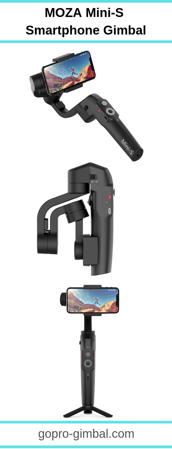 moza mini-s smartphone gimbal